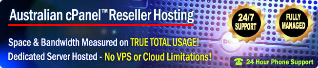 cPanel Reseller Hosting Services